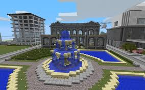 Minecraft Water Fountain Designs Fountain Minecraft Awesome