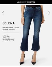 Womens Jeans Size Guide Jeans Fit Guide J Brand