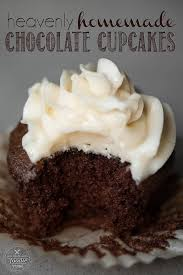 Heavenly Homemade Chocolate Cupcakes Self Proclaimed Foodie