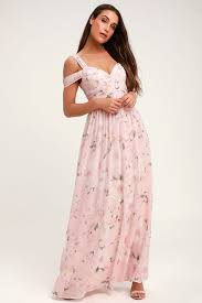 Light Pink Lace Maxi Dress Make Me Move Light Pink Floral Print Maxi Dress Floral