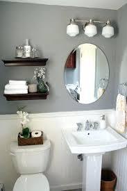small half bathroom decor. Half Bath Ideas Bathroom Decor Best On . Small
