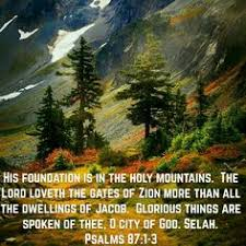 Image result for psalm 87:1