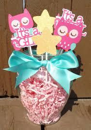 Owl Baby Shower Diaper Cake In Pink And GreyOwl BabyOwl Baby Shower Decor