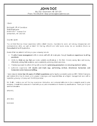 Unique Cover Letter Sample For Oil And Gas Company Fresh