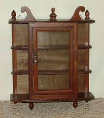 table top display shelves table top cabinet small wood glass curio cabinet wall mount hang table