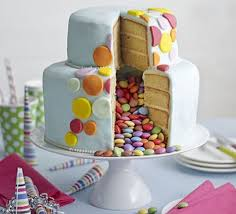 Celebration Piñata Cake