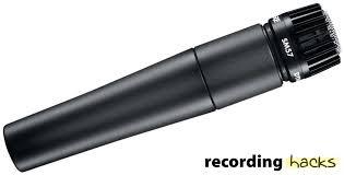 shure sm57 recordinghacks com shure sm57