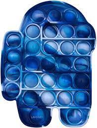 Calculate margin 1000 pieces minimum order; Amazon Com Lavone Fidget Toys Push Bubble Fidgets Sensory Toy Pop Fidget Toy For Kids Adults Silicone Stress Relief Toy Blue Toys Games