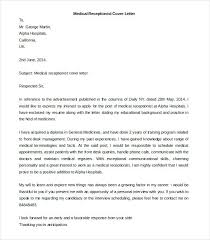 Medical Receptionist Cover Letter Free Printable Cover Letters Medical Receptionist Cover Letter
