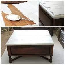 two tone coffee table tutorial