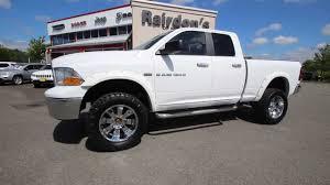 white dodge ram lifted. Exellent Lifted 2011 Dodge Ram 1500 SLT Quad Cab White STKBS698435 Rairdonu0027s  Chrysler Jeep Of Monroe  YouTube Intended Lifted F