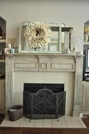 chalk painted fireplace mantel design ideas painting brick best mantels on paint