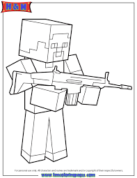 Minecraft Herobrine Coloring Pages Related Keywords Suggestions