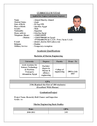 Gallery Of Ahmed Shawky C V Marine Engineer Marine Engineer