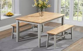 table with bench and chairs. awesome dining table and bench set with chairs l