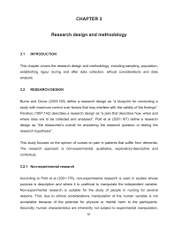 Discuss Experimental Research Design Chapter 3 Research Design And Methodology