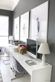ikea home office desk. Create A Sleek \u0026 Modern Home Office Setup With Two IKEA MICKE Desks Side By Ikea Desk O