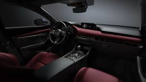 The <b>New</b> Mazda3 Red and Greige Interior <b>Colors</b> Are so <b>2019</b> It Hurts