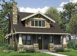 Craftsman House Archives   Page of   Exterior Home DecorationBungalow Craftsman House Plans s