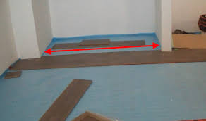how to install laminate wood flooring under a closet door from wood laminate flooring installation tips