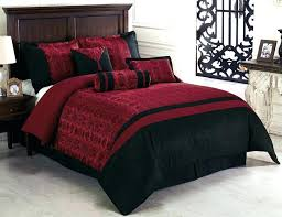 awesome black and red bed sets interior white in bag trend mode of duvet extraordinary red and gray comforter sets