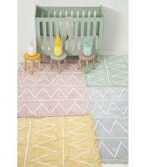 lorena cs kid s rug large washable cotton soft children s rug hippy pink