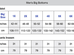 62 Perspicuous Mens Jeans Size Chart Height