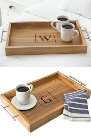 personalized acacia wood serving tray with metal handles in 2018 gifts and diy craft ideas gifts gifts and