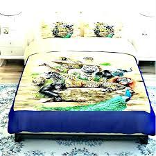 animal print comforter sets for king size bed leopard quilt zebra set twin