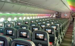 a seat width of 19 much larger than ba s business cl seat pitches for short haul flights which were recently reduced from 34 to 30 in a bid to