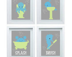 kids bathroom wall decor.  Kids Kids Bathroom Wall Decor Spectacular Nice Inspiration Ideas Or Rules Art Owl Inside O