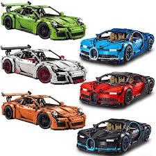 Modelauto bugatti chiron 1 43 blauw speelgoed auto schaalmodel. Goede Koop Bouwstenen Technic Decool 3388 3368 A B C Compatibel 42083 42056 Bugatti Chiron Racing Auto Bakstenen Race Speelgoed Goedkoop