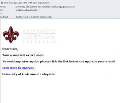 Sample Phishing Email It Help Desk