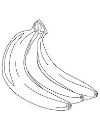 Small Picture Banana Coloring Pages Mr Banana Coloring Page With Banana