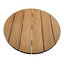 australian oak round outdoor table top