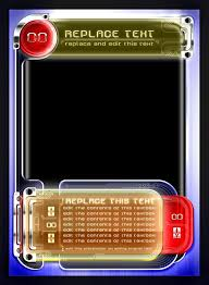 Trading Card Design Trading Card Game Template Free Download