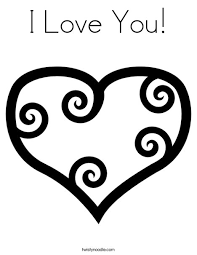 Small Picture I Love You Coloring Pages chuckbuttcom