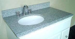 one piece vanity tops bathroom sink tops amazing of vanity top with offset right bowl bathroom