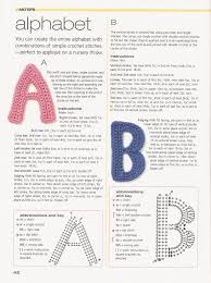 Crochet Letters Patterns