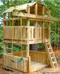 pallet tree house plans unique 79 best play set images on of pallet tree house