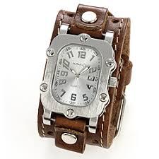nemesis men s brown leather strap quartz watch by nemesis nemesis men s brown leather strap watch