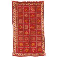 vintage north african berber rug
