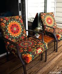 patio furniture cushions recovered patio chair cushions