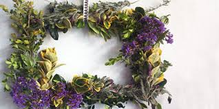 spring wreath for front doorHow to Make a Fresh Spring Wreath for Your Front Door Tutorial