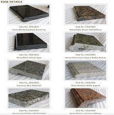 fresh granite countertop edges most popular with reg 5522