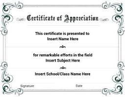 Free Printable Certificate Templates Editable Template Award