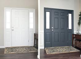 rug for inside front door interior front door before and after rug size front door