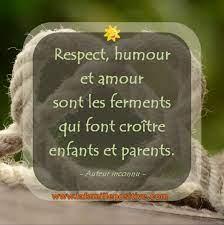 Respect Humour et Amour | La Famille Positive