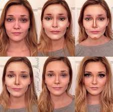 pictorial of contour highlight using cinemasecretspro foundation palette as a base and anastasiabeverlyhills contour kit for setting and defining you don t