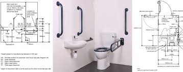 what are the dimensions of a disabled toilet room
